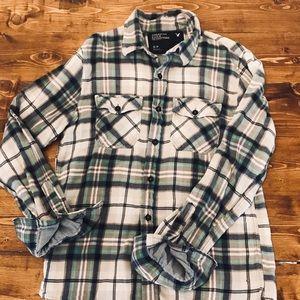 American Eagle Men's Flannel Plaid Shirt - size S